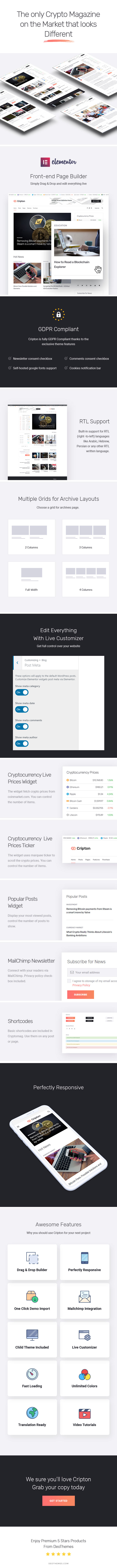 Cripton | Cryptocurrency Magazine WordPress Theme - 2