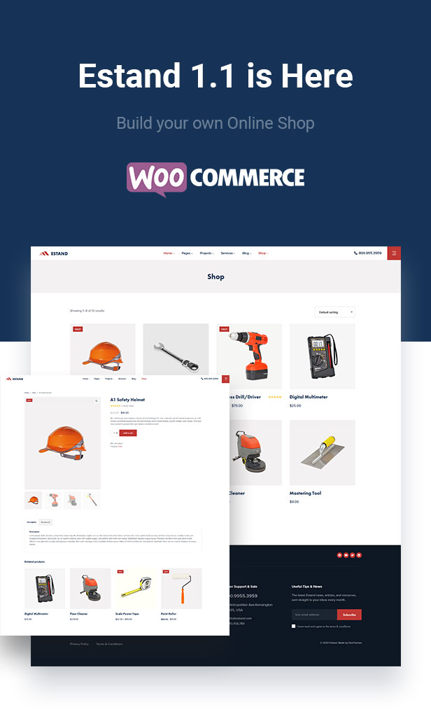 Estand WooCommerce Ready WordPress Theme