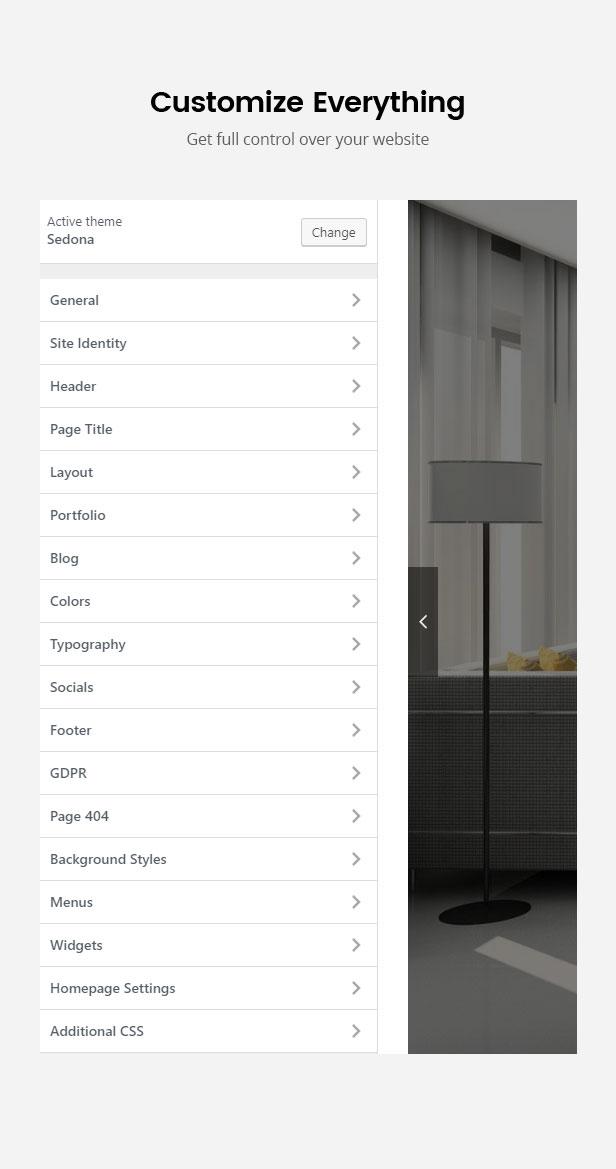 Sedona - Elementor Architecture Construction WordPress Theme