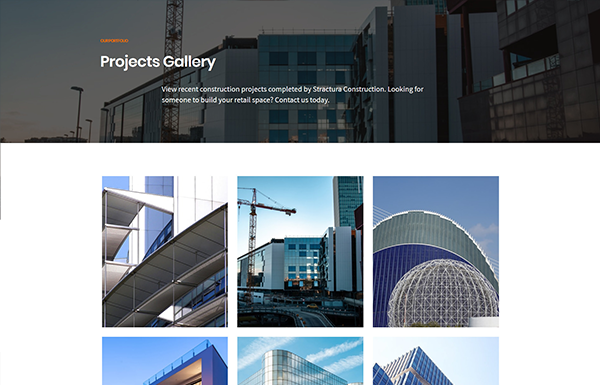Stractura – Projects